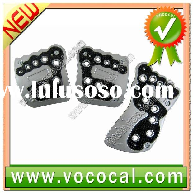 New Cute Foot Car NON-SLIP Racing Pedal Pas Cover Black