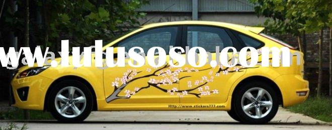 New Vehicle Wrap Car/Auto Body Vinyl Graphic Custom Stickers XY-253 Flower