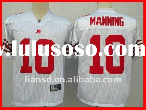 New York Giants 10 Eli Manning white jersey 100% stitched customerized jersey authentic jersey paypa