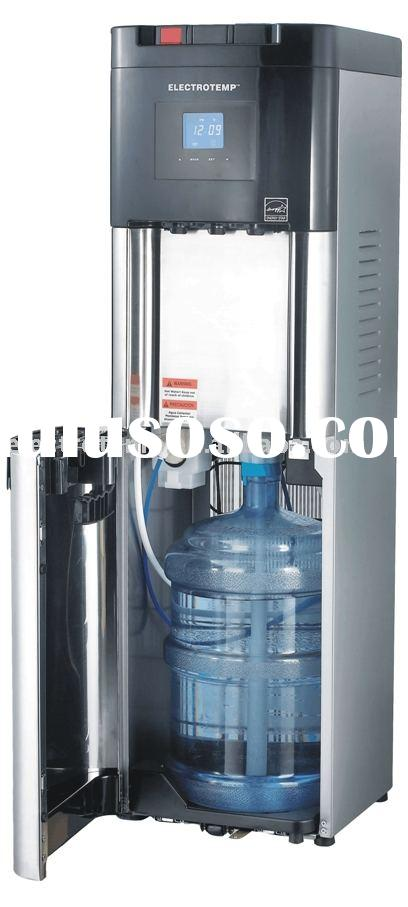Office Grade Cold, Hot and Cook Stainless Steel Bottom Loading Water Dispenser with Digital Display