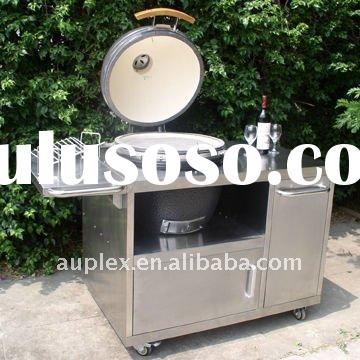 Outdoor Kitchen BBQ stainless steel table