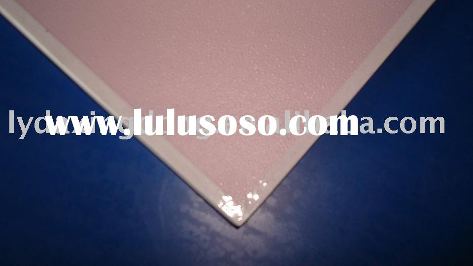 PVC laminated gypsum plafond/ceiling board