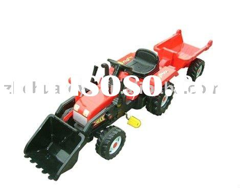 Pedal Car Tractor with red and yellow Color for 3-8 years old kids