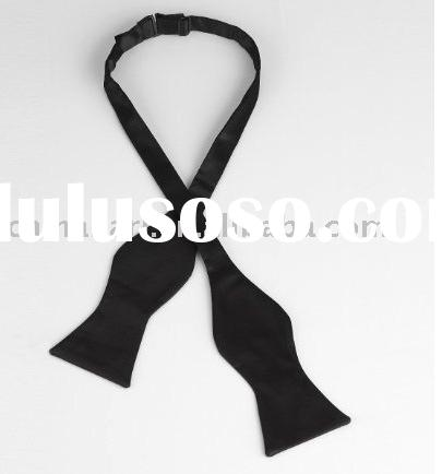 Plain Self Tie Bow Tie