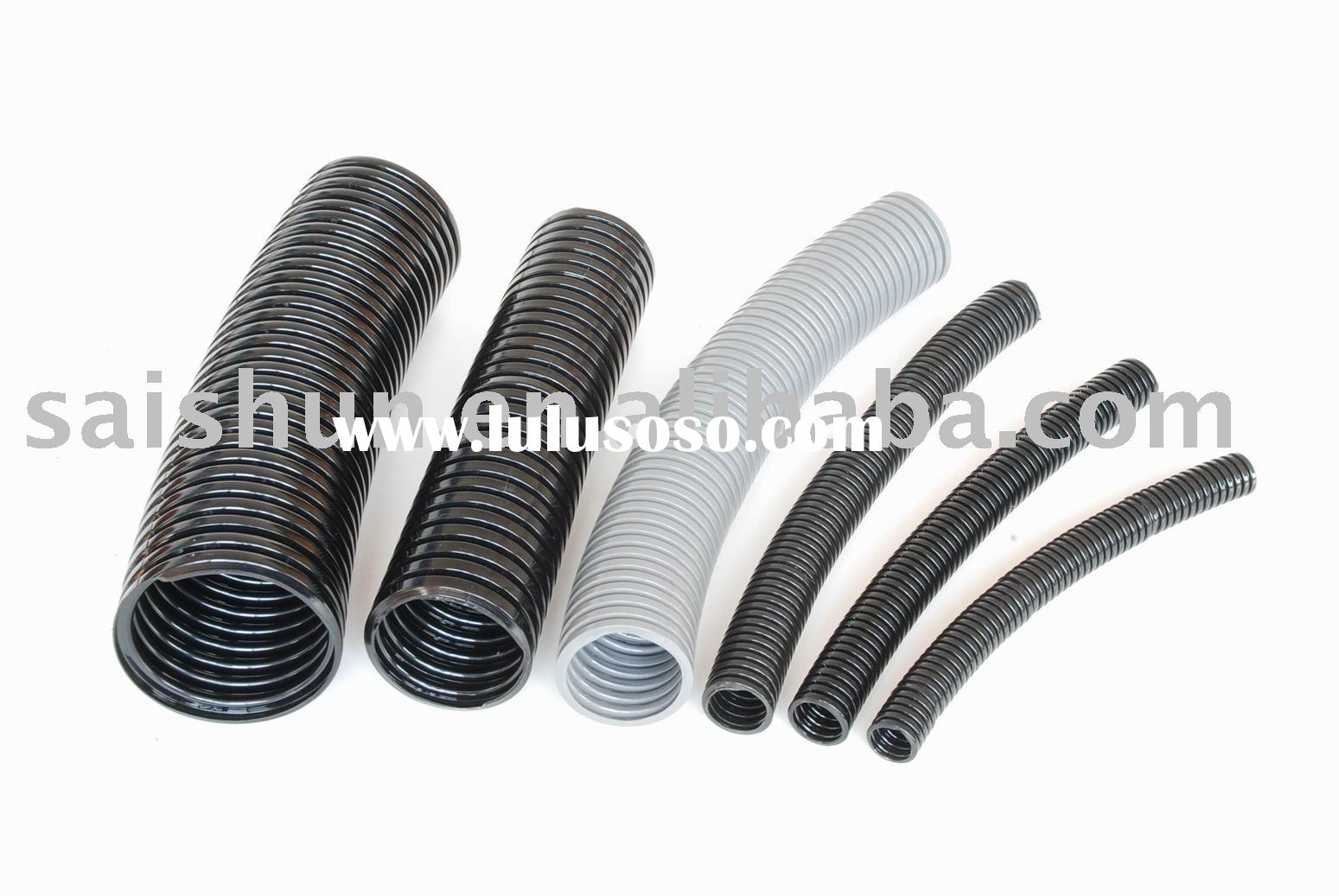 Flexible Wire Tubing : Plastic corrugated hose