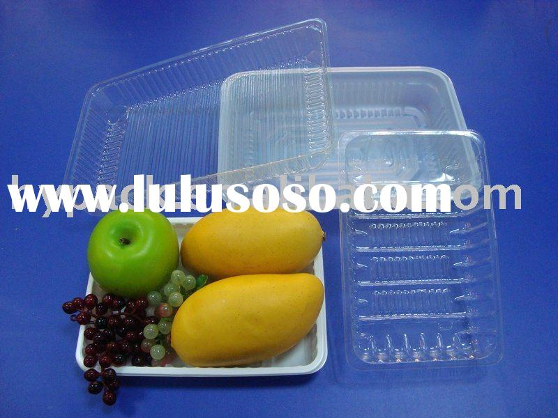 Plastic snack food/fruit/fast-food packaging plate/tray/dish