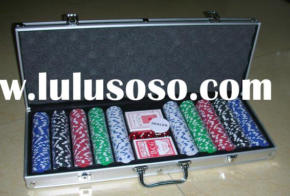 Poker Chip Set,dice poker chip,casino chip