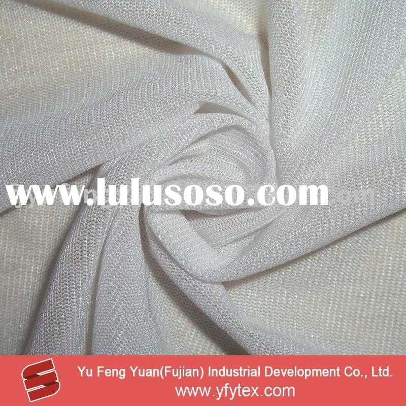 Polyester/Spandex Power Mesh Fabric