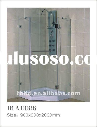 Popular Shower Room&cheap Shower Cabin&6mm sliding shower cabin&2011 new modern round gl