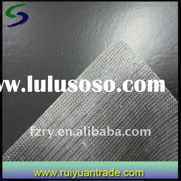 Pvc artificial leather for car seat cover Hot Sale 2011