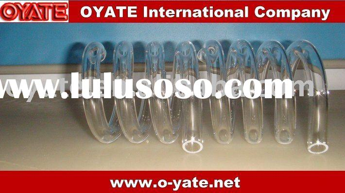 Quartz tube,Quartz glass tube,Milky Quartz Tube Heating Coil,Opaque Spiral Quartz Tube,Opaque Quartz