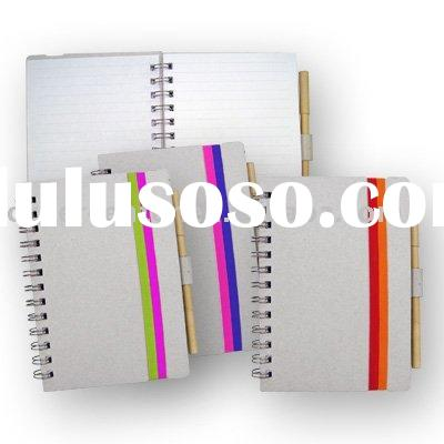Recycled journal book eco-friendly journal notebook