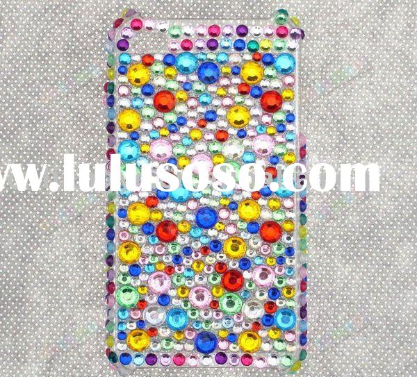 Rhinestone Jeweled Crystal Case for iPhone 4G (Accept Paypal)