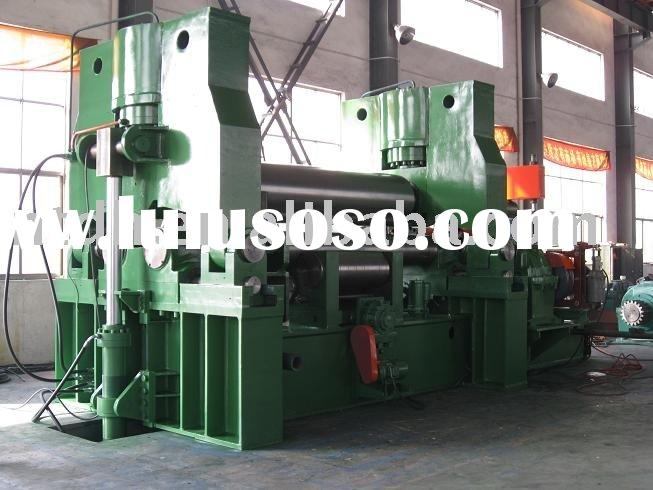 Roll bending Machine,bended machine,3-roller plate rolling machine