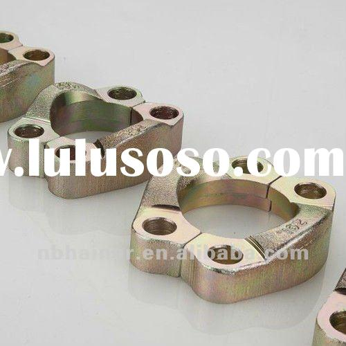 SAE split flange clamps 3000PSI hydraulic hose fittings/swaged pipe fitting/hydraulic fitting
