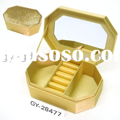 Sequins Jewelry box, Jewelry packaging box, Packaging box