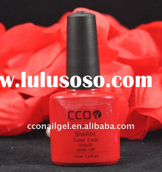 The Shellac UV&LED nail polish brands can be cured with LED or UV