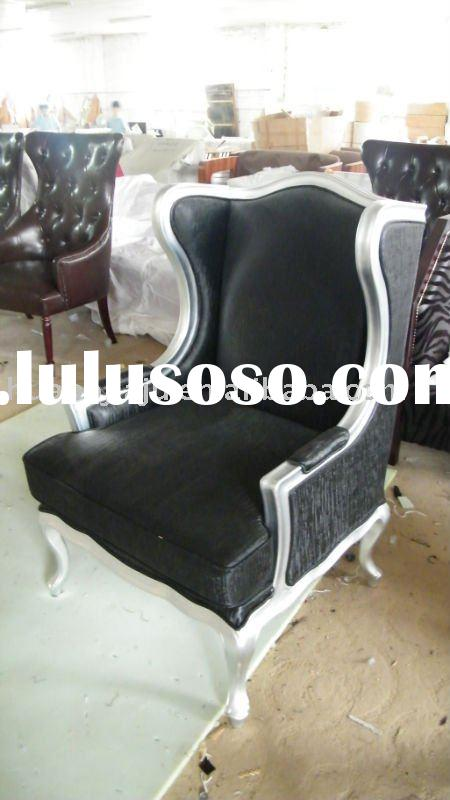 Leather wood sofa leather wood sofa manufacturers in for Sofa chair malaysia