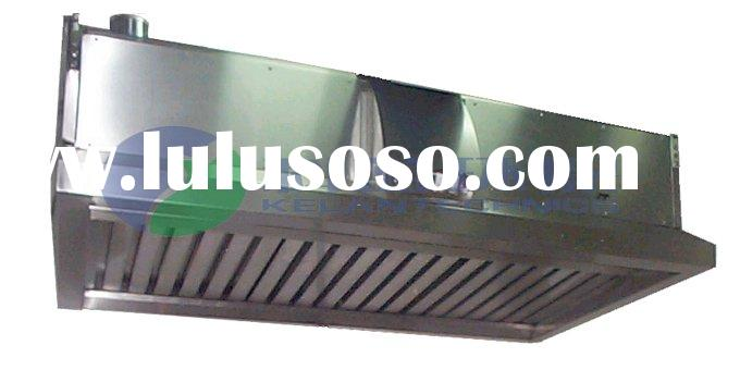 Stainless Steel Cooktop Range Hood with ESP (Electrostaitc Precipitator) Grease Elimination Filters