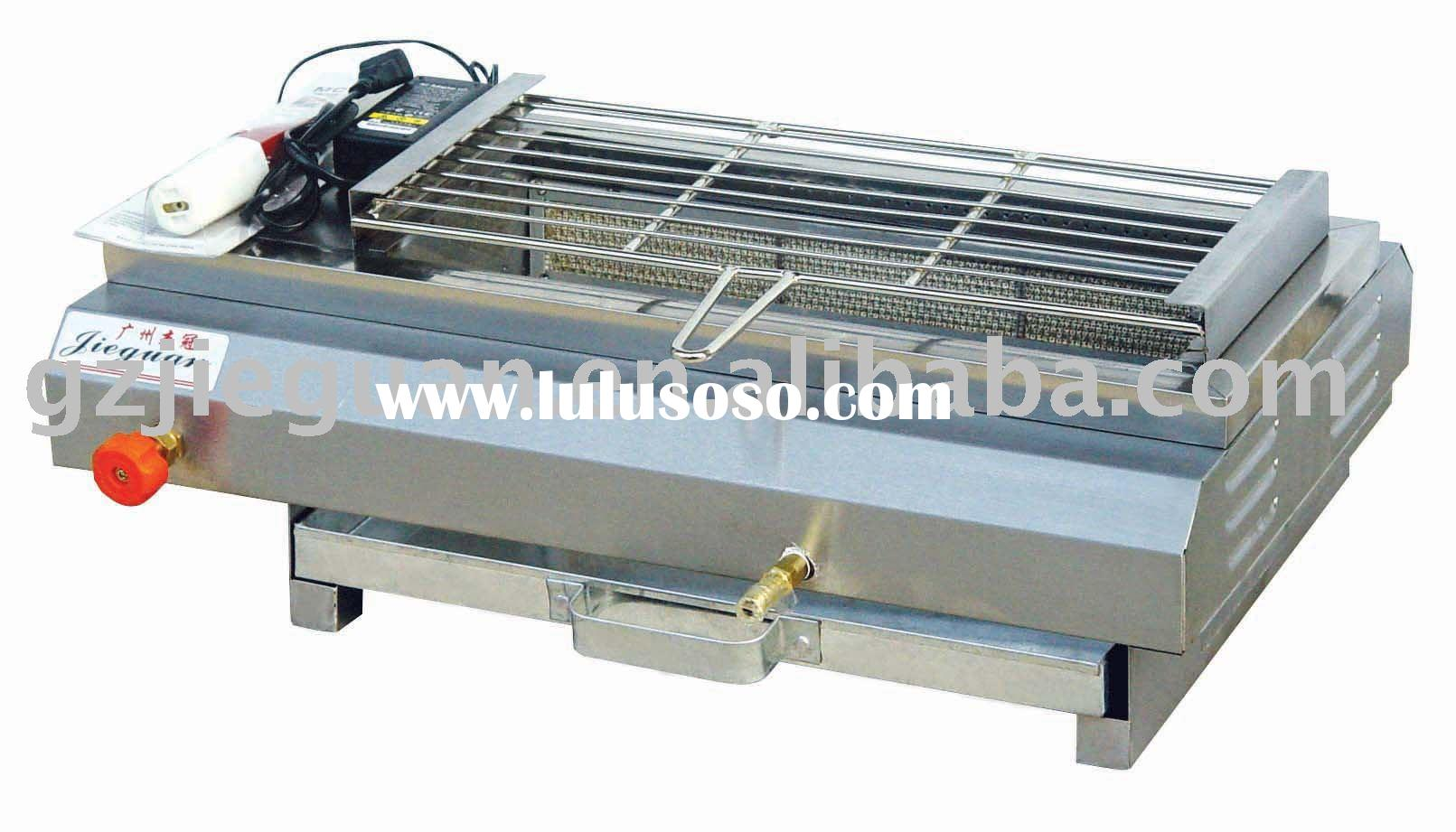 Stainless Steel Gas Barbecue Grill(GB-580)