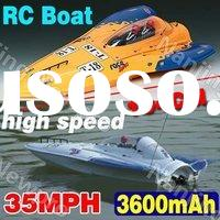 Super fast ! Large size 104 cm rc boat remote control speed racing boat with powerful motor type 750