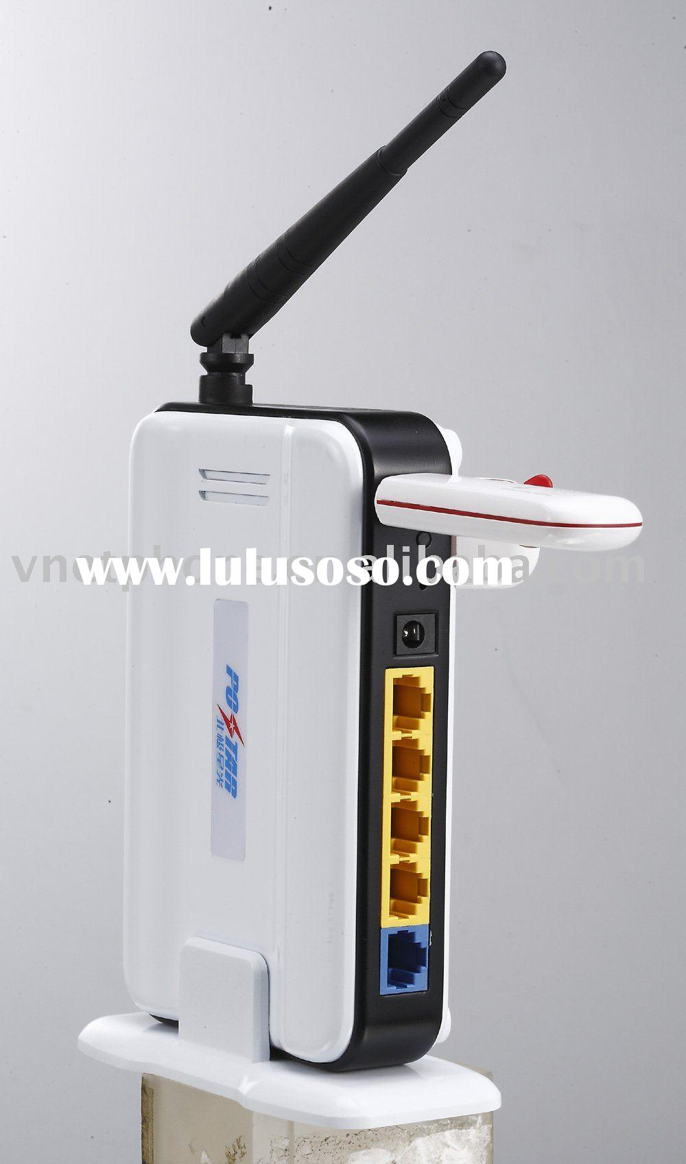 Support USB 3G modem card 3G+11N Wireless Router