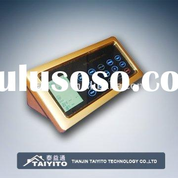 TAIYITO smart hotel touch screen hotel controller can change the panel name