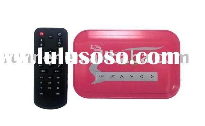TV/VGA Converter(system converter)(player Media Box with SD/MMC Card Reader +HOST Function)