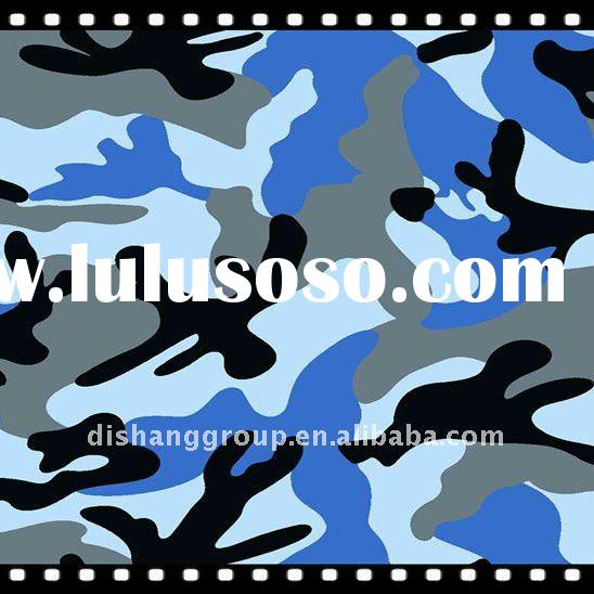 T/C 65/35 20s*16s Camouflage Fabric For Army Uniforms