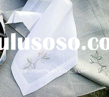 Table Linen Sets-Napkin, Runner, Placemat, etc,Table Napkin With Embroidery