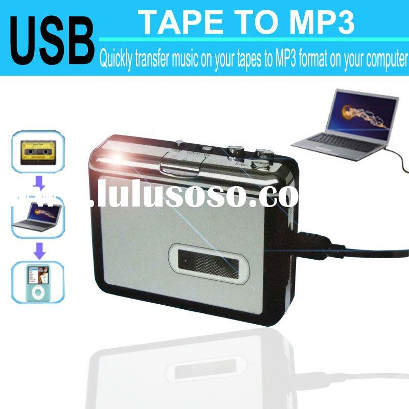 Tape converter to Mp3 USB Cassette player