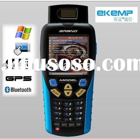 Touch panel Mini computer with scanner,GPS,RFID,FP,GPRS,WIFI