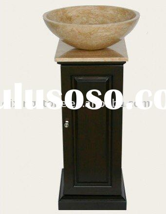 Travertine Cabinet Vessel Sinks