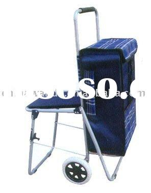 Trolley shopping bag with chair in singapore trolley for Chair shopping