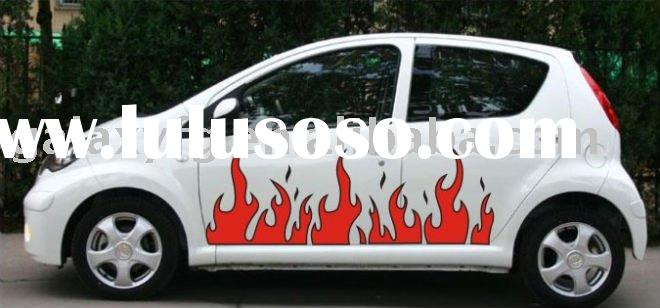 Vehicle Wrap Car/Auto Body Vinyl Graphic Custom Stickers XY-352 Flame