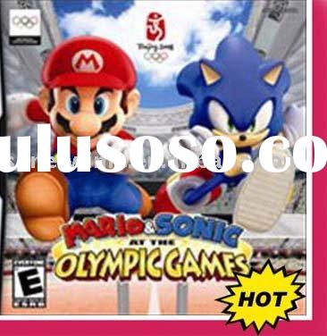 Video game Super mario and sonic at olympic games