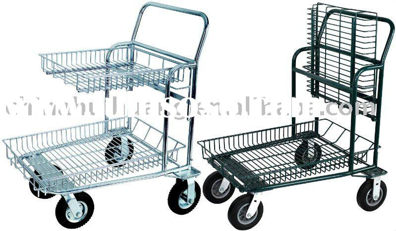 Warehouse Cart, Metal Cart, Shopping Trolleys, Convenience Carts, Steel Trolleys, Panier, Grocery Ca