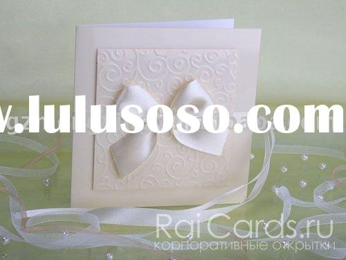 Wedding cards,elegant wedding invitation---EA899