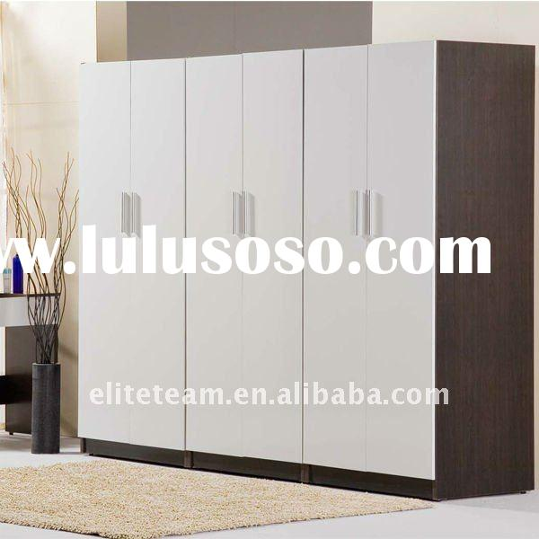 Cabinet For Bedroom  White PVC steel Modern Bedroom Cabinet jpg. Cabinet Bedroom