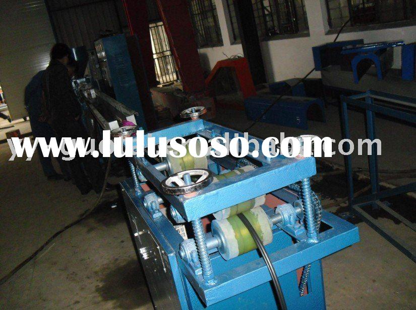 Wire protection corrugation tube machine /PVC coated metal pipe making line/galvanized steel flexibl