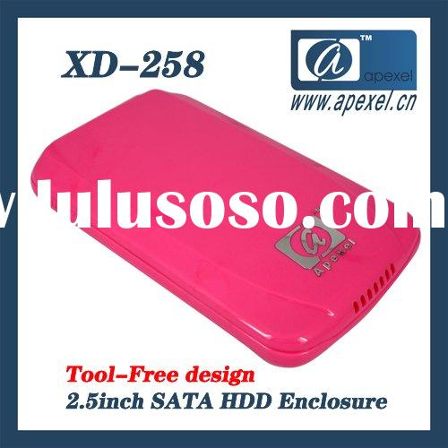 "XD-258U30 usb 3.0 2.5"" hard disk case up to 1TB"