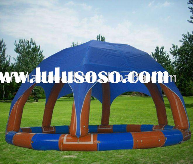 above ground swimming pool with tent cover(YCD-002 8X8m)