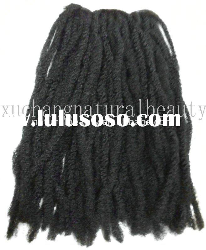 afro-twist braid curly synthetic hair,defent-burnt synthetic hair braid