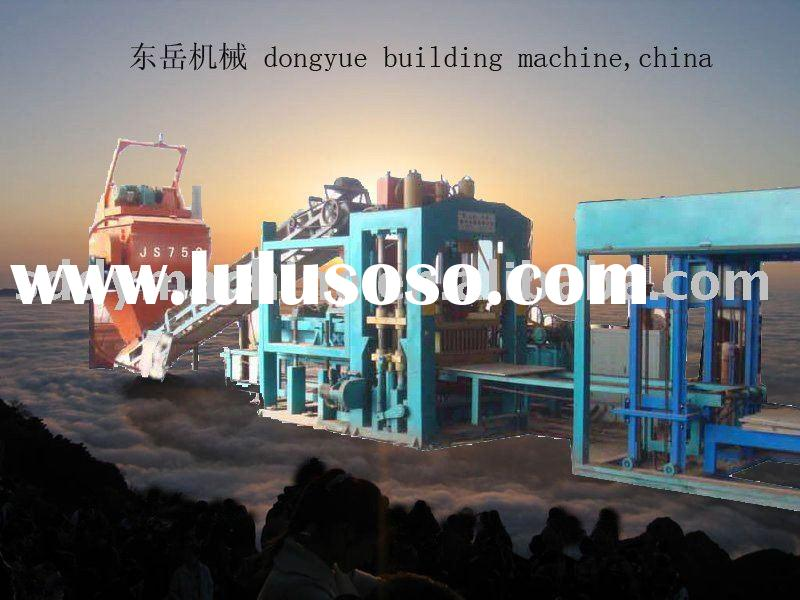 automatic concrete block making machine,block machine,brick making machine