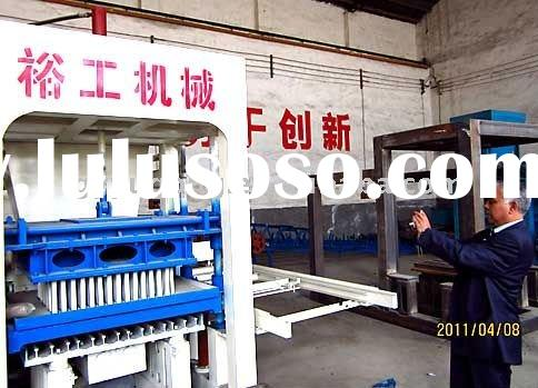 automatic fly ash hollow brick making machine popular in Asia