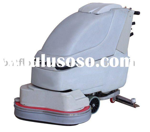 automatic walk behind floor cleaning and polishing equipment