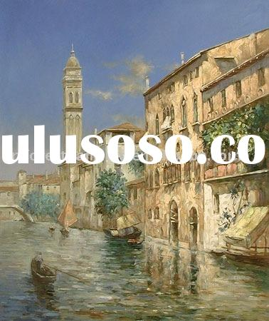beautiful famous Venice Landscape oil painting canvas