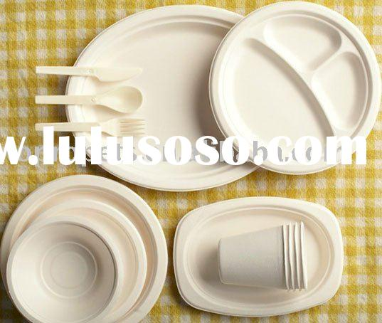 biodegradable tableware -bamboo pulp tableware-disposable bowl