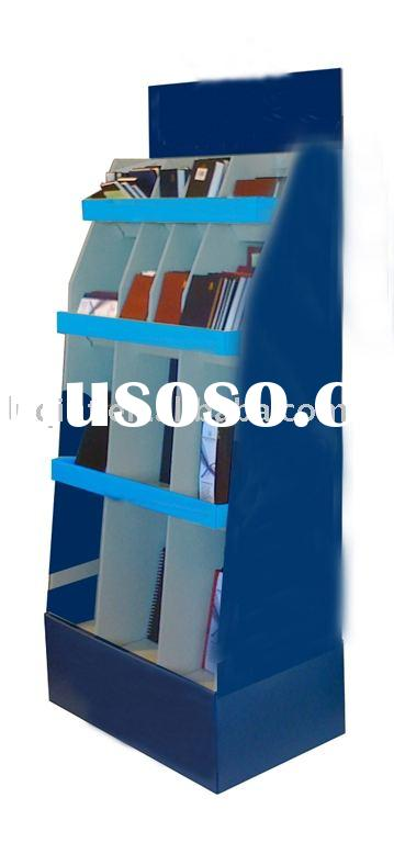 book display,cardboard display, corrugated display, point of sale display
