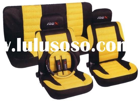 car seat covers black leather